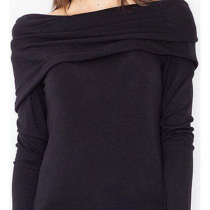 Černý pulovr M469