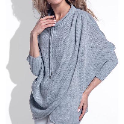 Šedý pulovr Fimfi I160