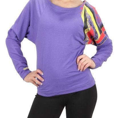 Dámské sportovní tričko s dlouhým rukávem Reebok vel. XS