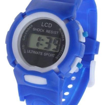 Dětské digitální hodinky v pěti barvách