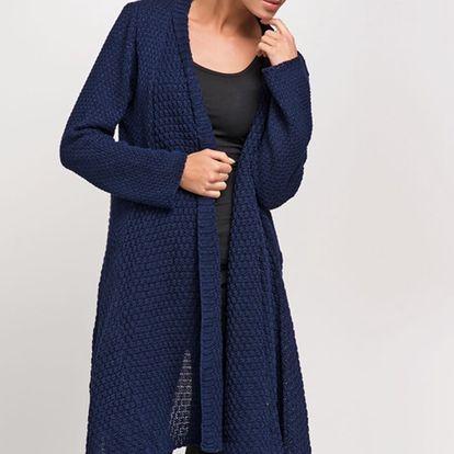 Tmavě modrý svetr S29