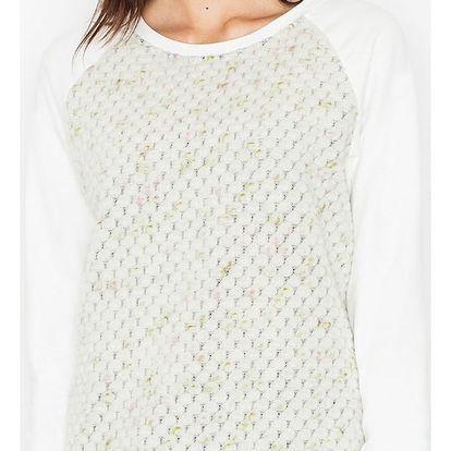 Smetanový pulovr M514