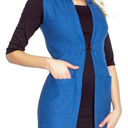 Modrá vesta Marlen