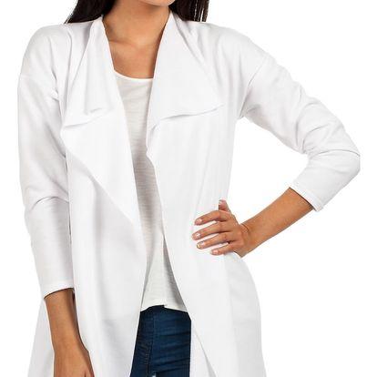 Bílý kabátek MOE 102
