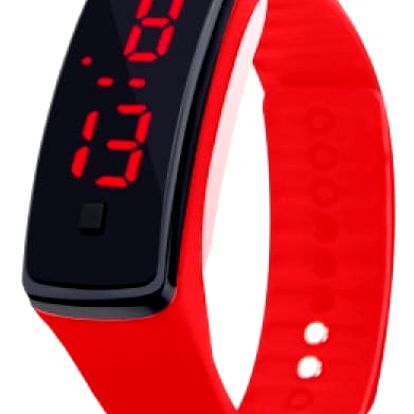 Moderní silikonové hodinky pro ženy i muže - 10 barev