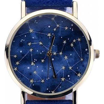 Dámské hodinky s hvězdnou soustavou