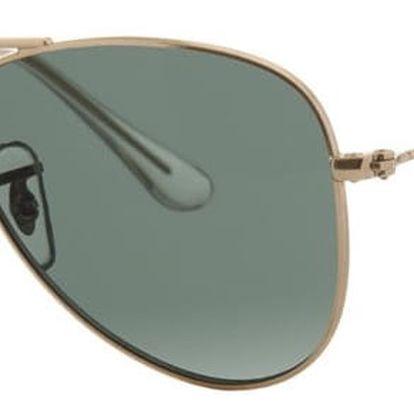 Dětské sluneční brýle Ray-Ban 9060 Dark Green 50 mm - doprava zdarma!