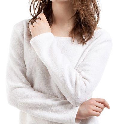 Smetanový pulovr MOE 214