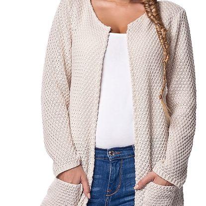 Béžový svetr LS150