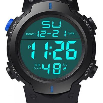 Pánské digitální hodinky s kalendářem - 4 varianty