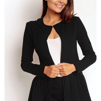 Černý kabátek NA87