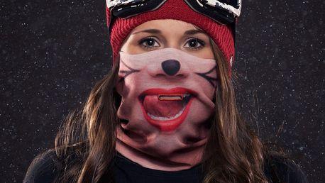 Lyžařská maska Beardo Cat