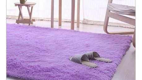 Koberec fialový do pokoje - 160 x 80 cm