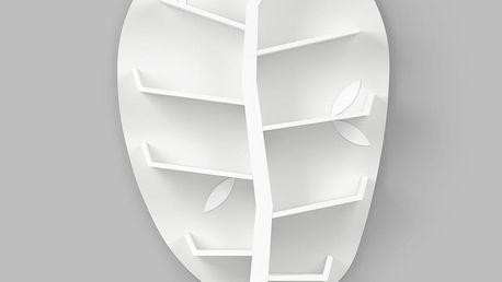 Bílá nástěnná police Timoore PL Plus - doprava zdarma!