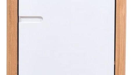 Skříňka z dubového dřeva Gazzda Ena,60x110cm - doprava zdarma!