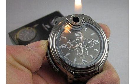 Pánské vojenské hodinky se zapalovačem