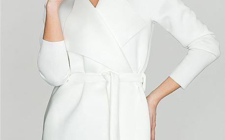Bílý kabátek K257