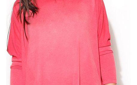 Růžový svetr K172