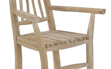 Dřevěná židle Arly - doprava zdarma!