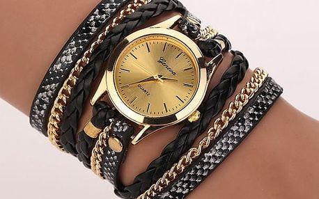 Vícevrstvé hodinky pro ženy - 6 barev
