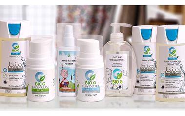 Dětská přírodní bio kosmetika s obsahem stříbra-pro děti 0+