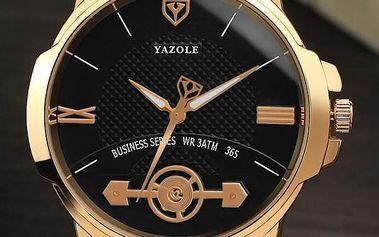 Elegantní pánské hodinky s netradičním designem ciferníku