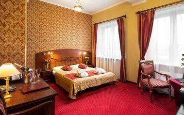 Pobyt v hotelu Galicja *** u solného dolu Wieliczka a také kousek od Krakova