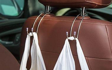 Praktické závěsné háky do auta