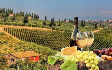 Letní pobyt v Toskánsku s ubytováním ve vile a ochutnávkou pravé italské kuchyně