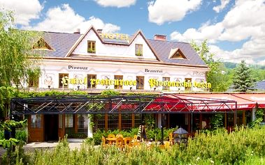 3 až 5denní romantika s pivem v hotelu Pivovarská Bašta pro 2 až 4 osoby v Krkonoších