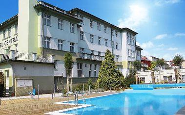3–4denní wellness pobyt se snídaní pro 2 v hotelu Centrál*** v Klatovech