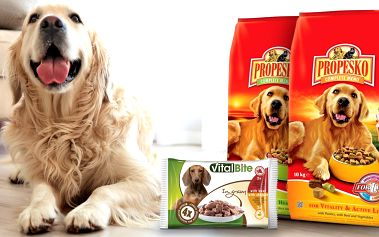 10kilový pytel psích granulí Propesko
