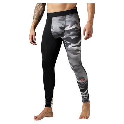 Reebok Spray Camo Compression Tight XXL