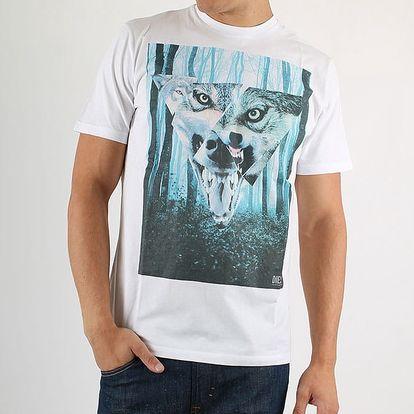 Tričko Diesel T-UZURI MAGLIETTA M Bílá