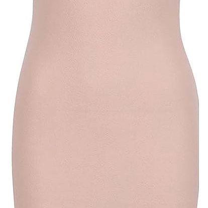 Světle růžové šaty se stojáčkem AX Paris