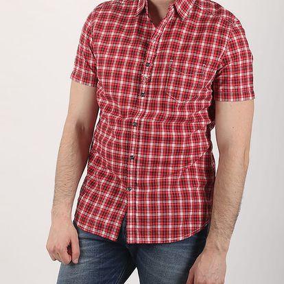 Košile Diesel S-JUGO CAMICIA XL Červená