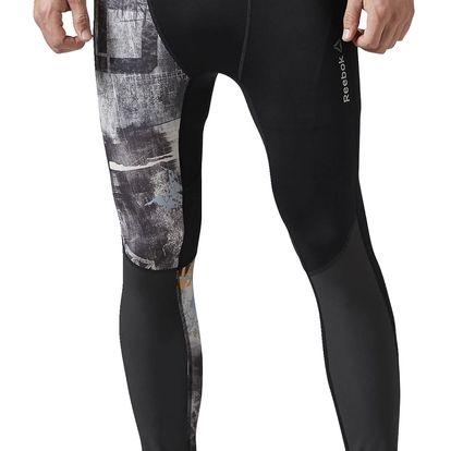 Pánské běžecké kalhoty Reebok Spartan Race Compression Tight S