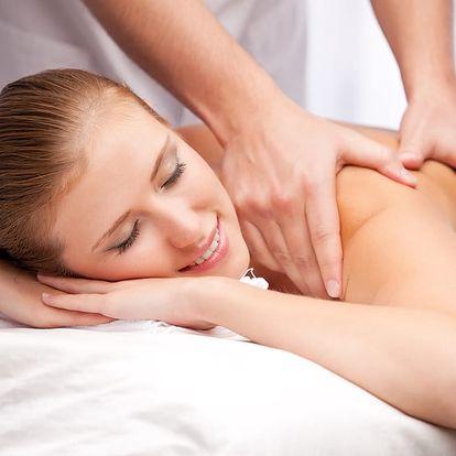 1 nebo 3 masáže zad, šíje a hlavy v délce 60 minut, možnost zábalu či peelingu v Ostravě