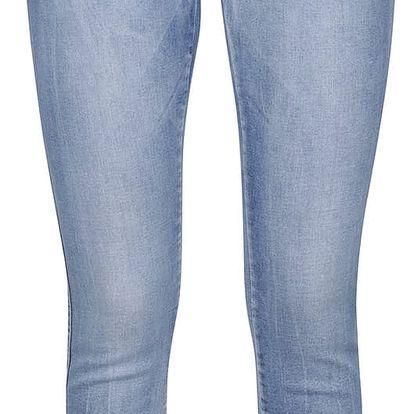 Modré super slim džíny Noisy May Lucy