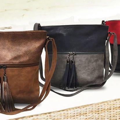 Crossbody kabelky s ozdobnými střapci