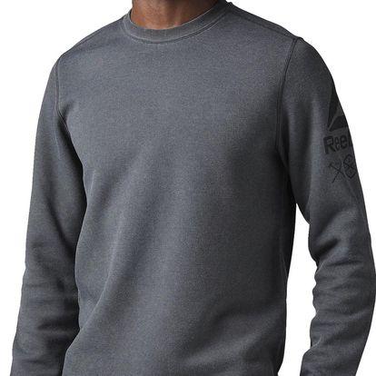 Reebok Quik Cotton Crew Sweatshirt L
