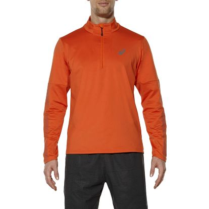 Pánské běžecké tričko Asics Lite-Show LS 1/2 Zip M