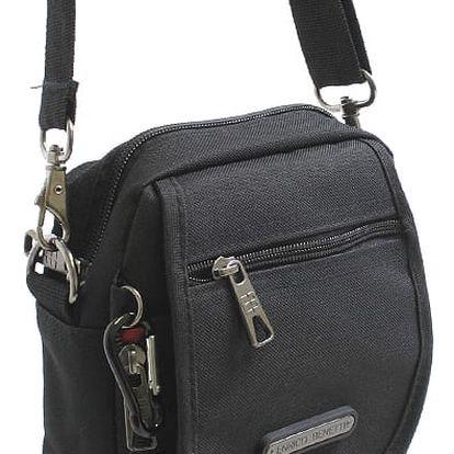 Černá taška na doklady Enrico Benetti Jack černá