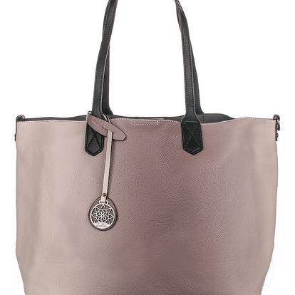 Dudlin Dámská kabelka OMBRE shopper barevná
