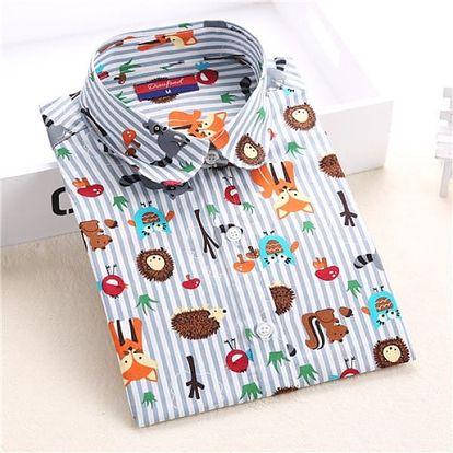 Bavlněná košile s dlouhým rukávem vel. 2 - 9