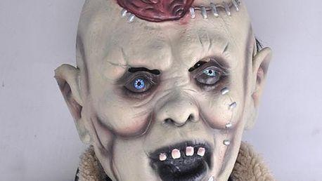 Strašidelná maska na Halloween