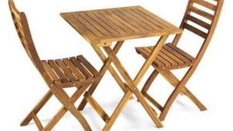 Balkonový nábytek Fieldmann FDZN 4018 + Houpačka CUBS dřevěná s ohrádkou v hodnotě 199 KčZahradní gril kulatý SportTeam 35cm + Doprava zdarma