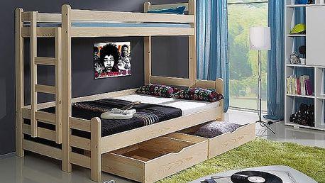 Artbed Dětská patrová postel BENJAMÍN