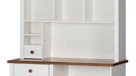 Szynaka Nádstavec na psací stůl PRINCESSA 05 barevné provedení doplňků: bílá / bílá