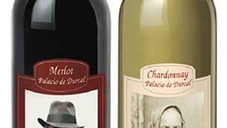 Červené nebo bílé španělské víno s vlastní fotografií a textem potěší vás i vaše blízké.